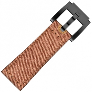 Denim Marc Coblen Watch Strap Orange 22mm