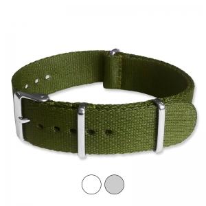 Army Green Seatbelt NATO Deluxe Nylon Strap