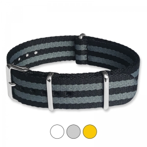 James Bond Seatbelt NATO Deluxe Nylon Strap