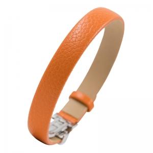 NIMA Atelier Seth Calf Skin Bracelet with Folding Clasp Blue