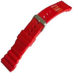 Citizen Promaster Watch Strap type No Decompression Limits Red