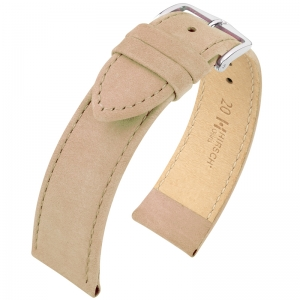 Hirsch Osiris Watch Strap Nubuck Leather Rose - Limited Edition