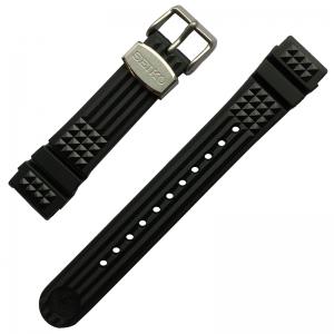Seiko Marinemaster 300 MM300 SBDX017 Watch Strap Black Rubber 20mm