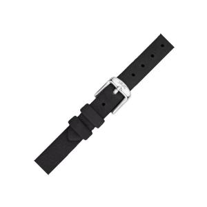 LLarsen / Lars Larsen Watch Strap Black Calf Skin - 12mm