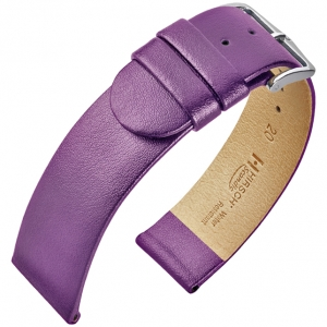 Hirsch Scandic Watch Band Calf Skin Purple