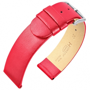 Hirsch Scandic Watch Band Calf Skin Pink