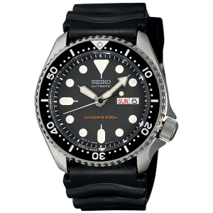 Seiko Diver Z22 Watch Strap SKX007K1 Black Rubber