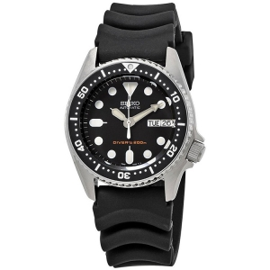 Seiko Z20 Watch Strap for Divers Watches Black Rubber - 20mm
