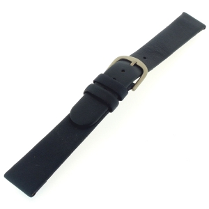 Danish Design Dark Blue Watch Strap Calfskin with Titanium Clasp