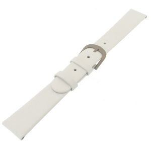 Danish Design White Watch Strap Calfskin with Titanium Clasp