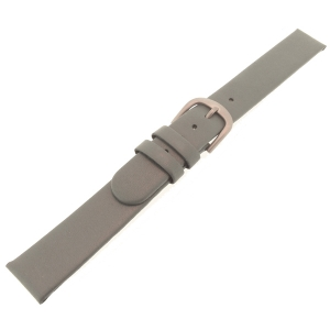 Danish Design Gray Watch Strap Calfskin with Titanium Clasp