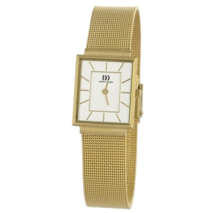 Watch Band Danish Design IV05Q737 - mesh/milanese gold coloured woven steel