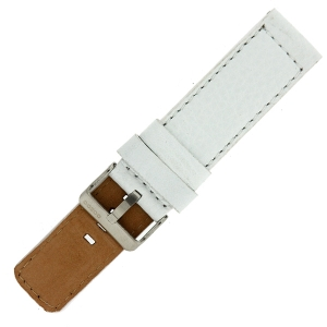 OOZOO Watch Band White Leather