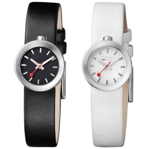 Mondaine Aura Watch Strap white or black type 30324
