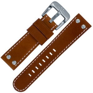 TW Steel Watch Band TW1, TW1R, TW3, TW5, TW6, TW21 - Cognac 22mm