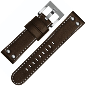 TW Steel Watch Band CE1005, CE1006, CE1007, CE1008 - Brown 22mm