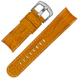 TW Steel Watch Band TW52 - Orange Croco Calfskin 22mm
