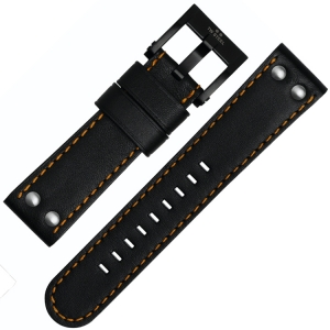 TW Steel Watch Band CE1027, CE1028, CE1029, CE1030 - Black 22mm