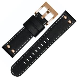 TW Steel Watch Band CE1021, CE1022, CE1023, CE1024 - Black 22mm