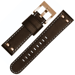 TW Steel Watch Band CE1017, CE1018, CE1019, CE1020 - Brown 22mm