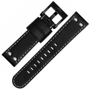 TW Steel Watch Band CE1031, CE1032, CE1033, CE1034 - Black 22mm