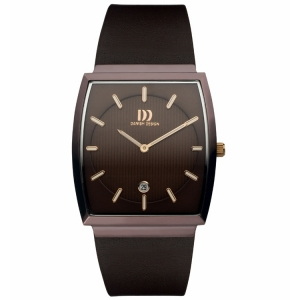 Watch Band Danish Design IQ17Q900- darkbrown leather