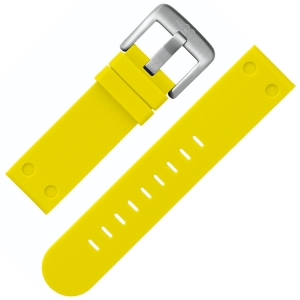 TW Steel Watch Band TW520 Yellow Rubber 22mm