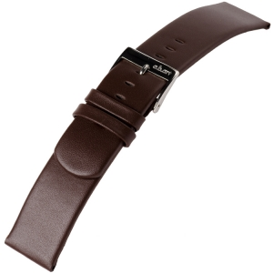 a.b.art Watch Strap series D/DL/ES Dark Brown 21 and 30 mm