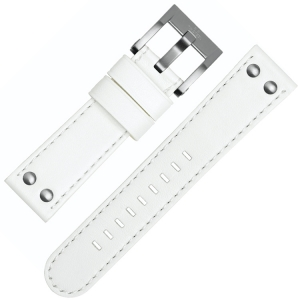 TW Steel Watch Band CE1037, CE1038 - White 22mm