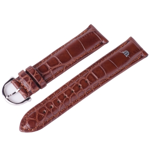 Maurice Lacroix Watch Strap Mississippi Alligator Cognac 20mm