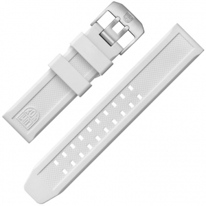 Luminox Watch Band 3057.WO, series 3050, 3060, 3080, 3090, 3150, 3160, 3180, 3950 White - FP.3050.10