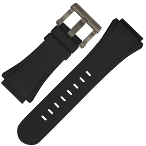 TW Steel Watch Strap CE4001 CE4005 CE5008 CEO Diver Tech 44mm - Black Rubber
