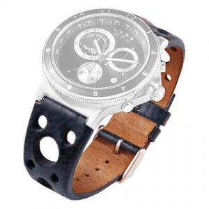 Rosendahl Tom Kristensen MPH Watch Strap Blue Leather