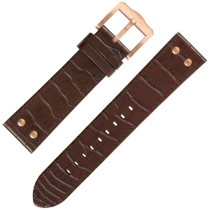 TW Steel Slim Line Watch Band TW1304 - Brown 22mm
