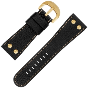TW Steel Watch Strap TW82, TW114 Black 30mm