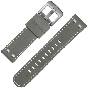 TW Steel Universal Watch Strap Gray Suede Leather