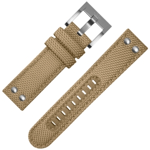 TW Steel Watch Strap Khaki Canvas 22mm