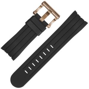 TW Steel Watch Strap TW131 TW606 Black Rubber 24mm
