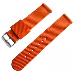 Orange Two Piece RAF NATO Nylon Strap
