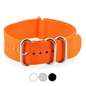 Orange ZULU Extreme Premium Nylon Strap