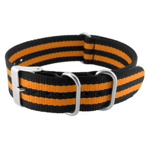 NATO ZULU Extreme Nylon Strap Orange Bond