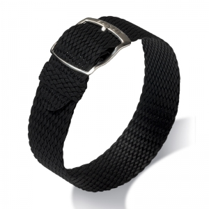 Eulit Perlon Watch Strap Panama Black