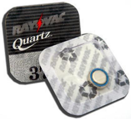 Rayovac 370 Watchbattery / SR920S Silver-Oxide 1,55V