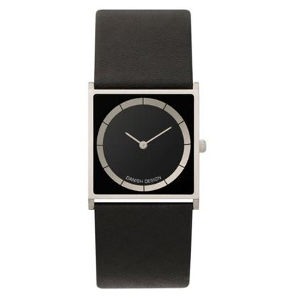 Watch Band Danish Design IV13Q826 - black leather