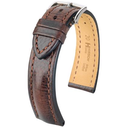 Hirsch Lucca Artisan Watchband Brown