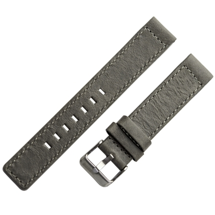 OOZOO Watch Band Grey Leather
