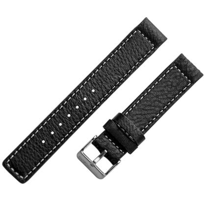 OOZOO Watch Band Black Leather