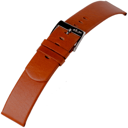 a.b.art Watch Strap series D/DL/E/EL/ES Cognac Brown 21, 26 and 30 mm