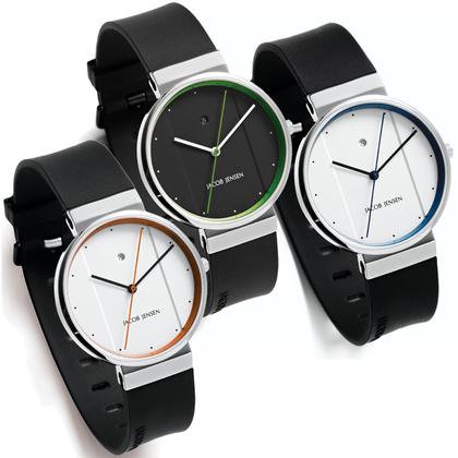 Jacob Jensen Watch Band 750, 755, 757 rubber 17mm