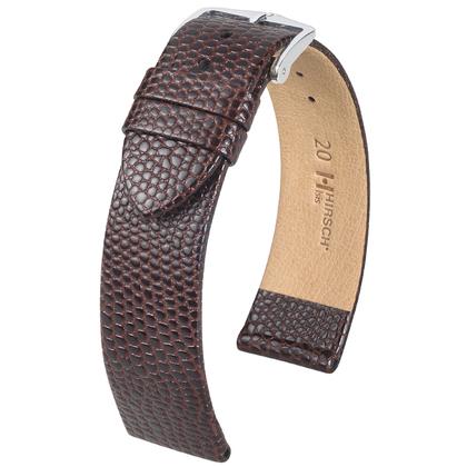 Hirsch Medea Watchband Brown